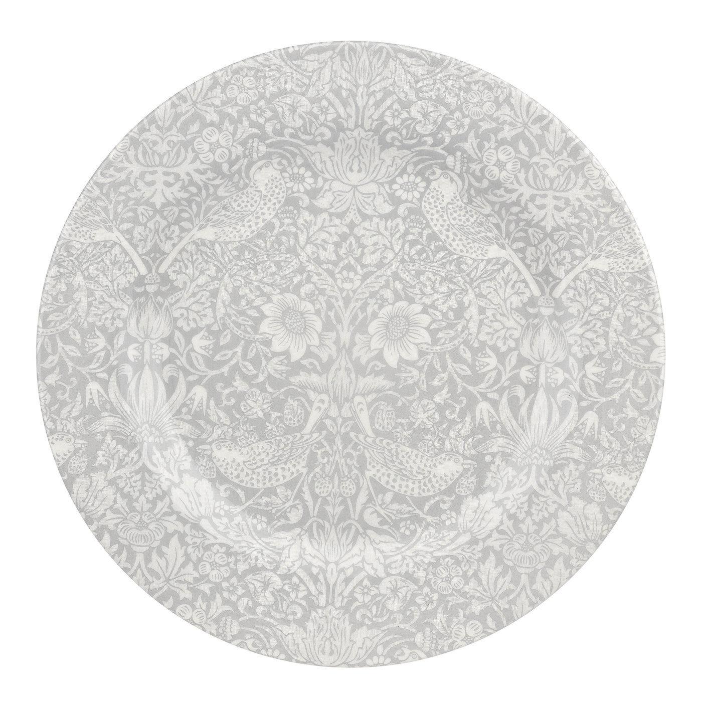 Spode Pure Morris Strawberry Thief Plate, 27,9 cm