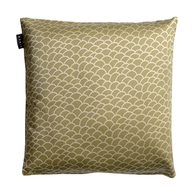 Linum Ascoli Tyynynpäällinen 50x50cm, Soft Grey Green