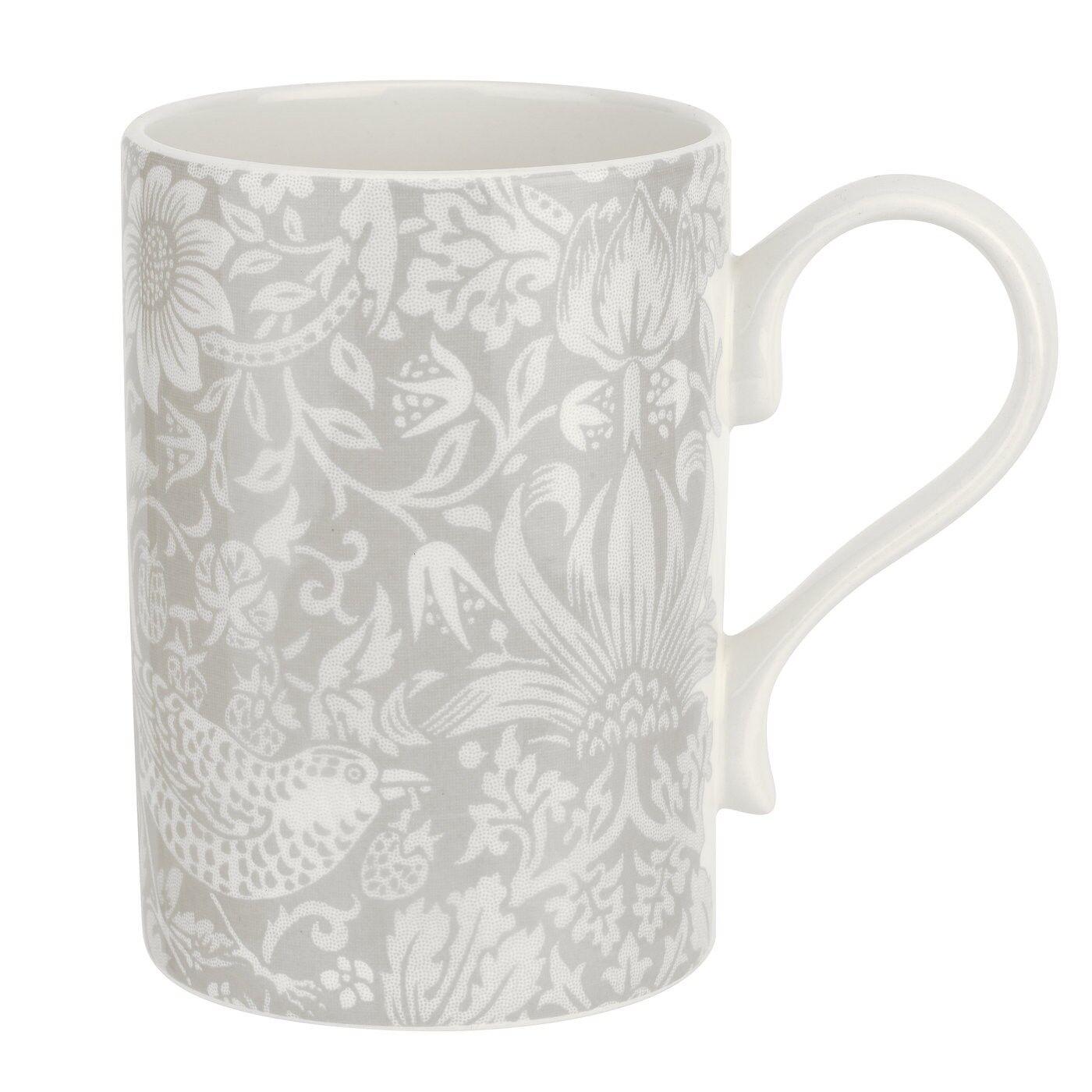 Spode Pure Morris Strawberry Thief Mug, 34 cl