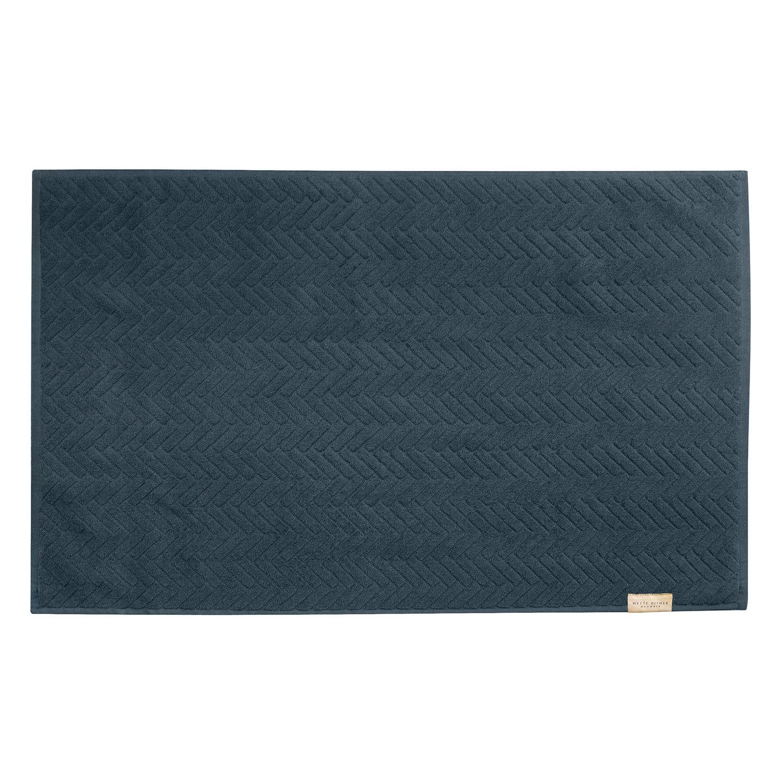 Mette Ditmer Brick Kylpyhuoneenmatto 50x80cm, Midnight Blue