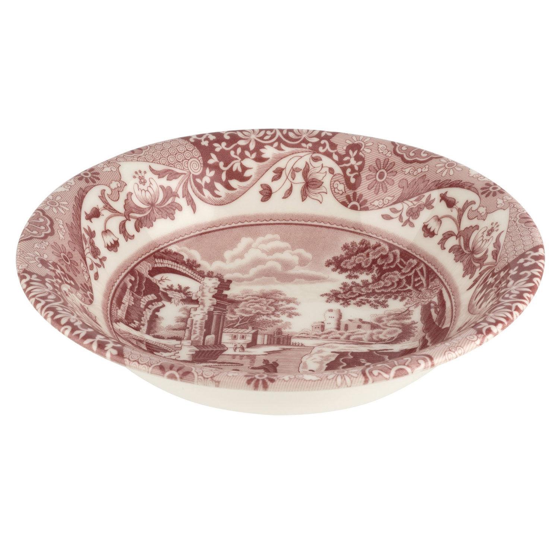 Spode Cranberry Italian Cereal Bowl, 20 cm