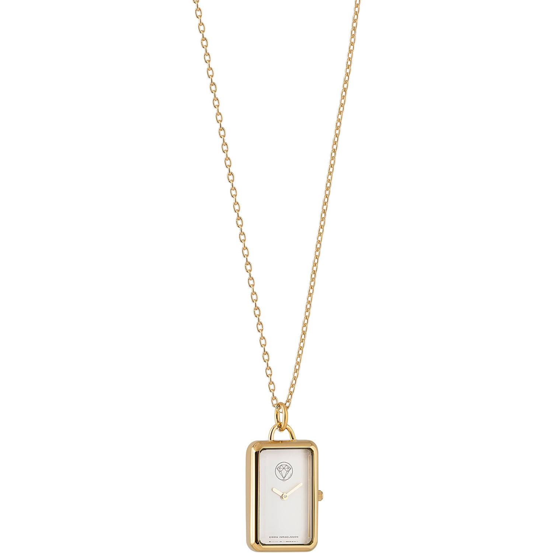 Emma Israelsson Watch Necklace, Gold/White
