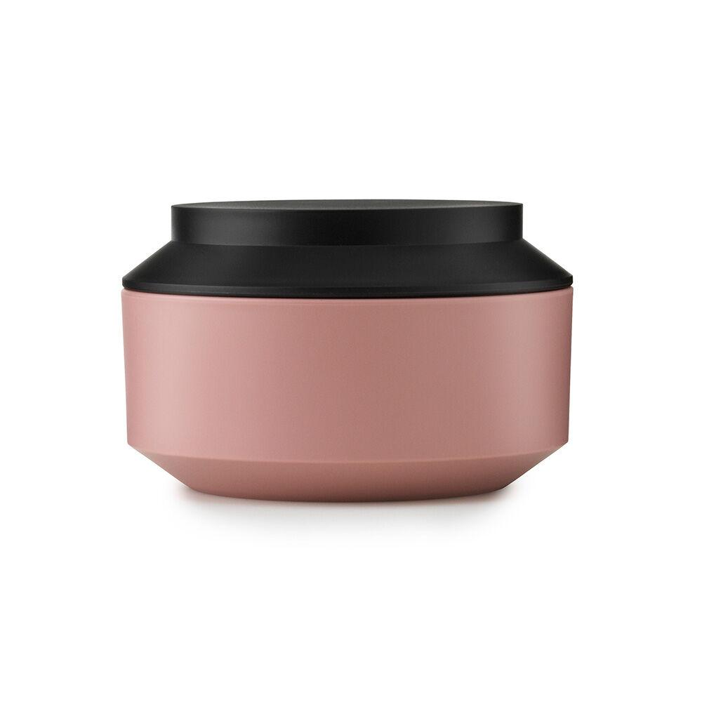 Normann Copenhagen Jar With Lid 9,3xØ15cm, Blush/Black