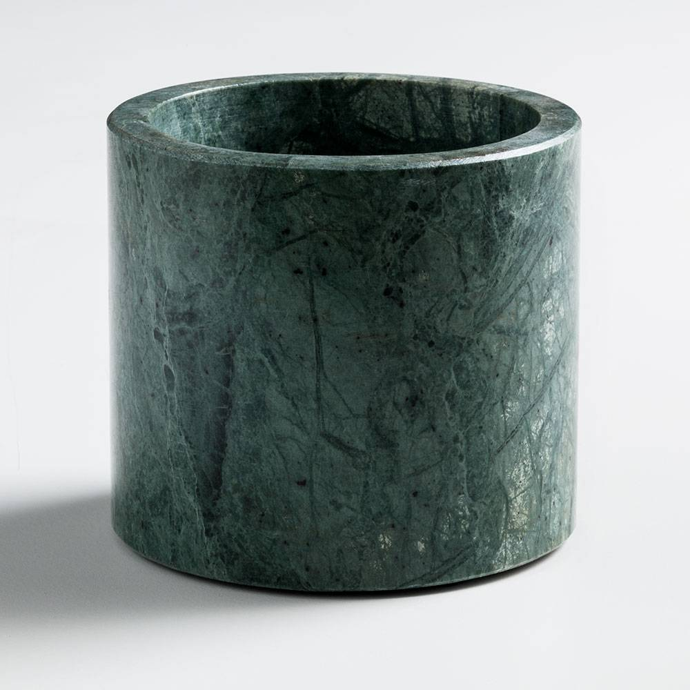Nordstjerne Green Marble Kynttilänjalka, Large, Vihreä