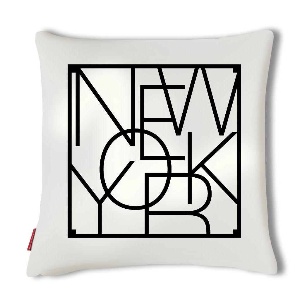 Men at Work City Cushion Tyynynpäällinen, New York