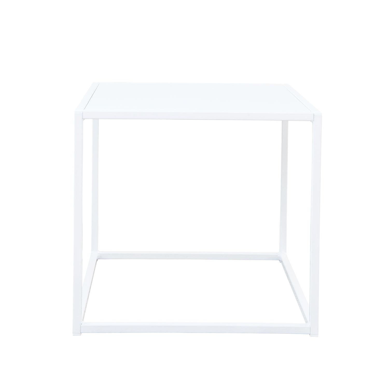 Domo Design Domo Square Pöytä S Outdoor, Valkoinen