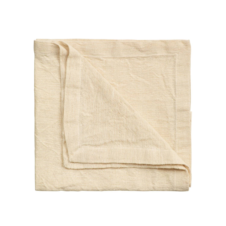 Linum Hedvig Servetti 45x45cm, Creamy Beige