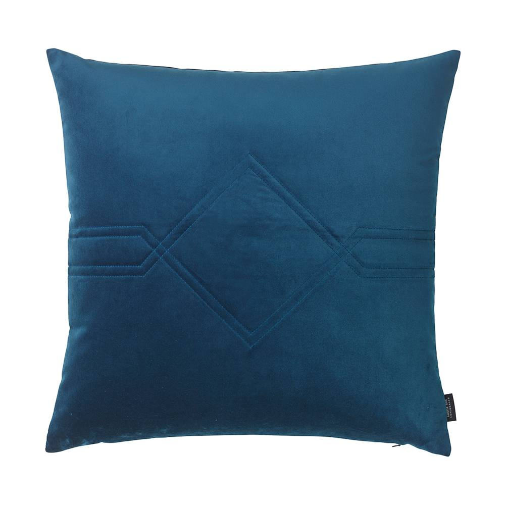 Louise Roe Diamond Tyyny 60x60cm, Royal Blue