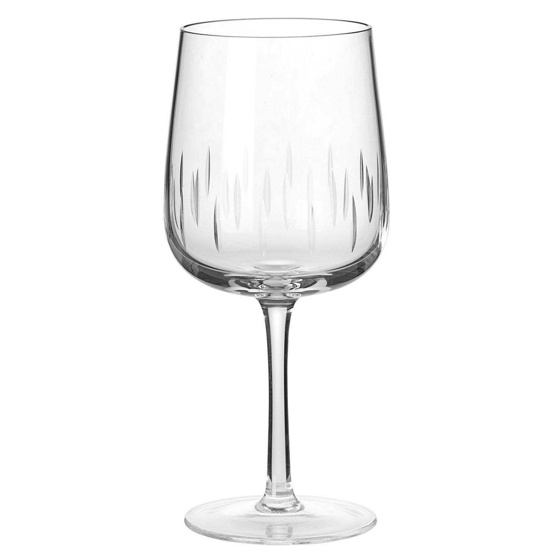 Louise Roe Crystal Glass Punaviinilasi, Kirkas