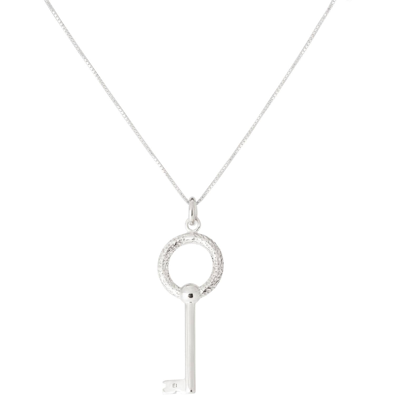 Emma Israelsson Key Necklace L 76 cm, Silver