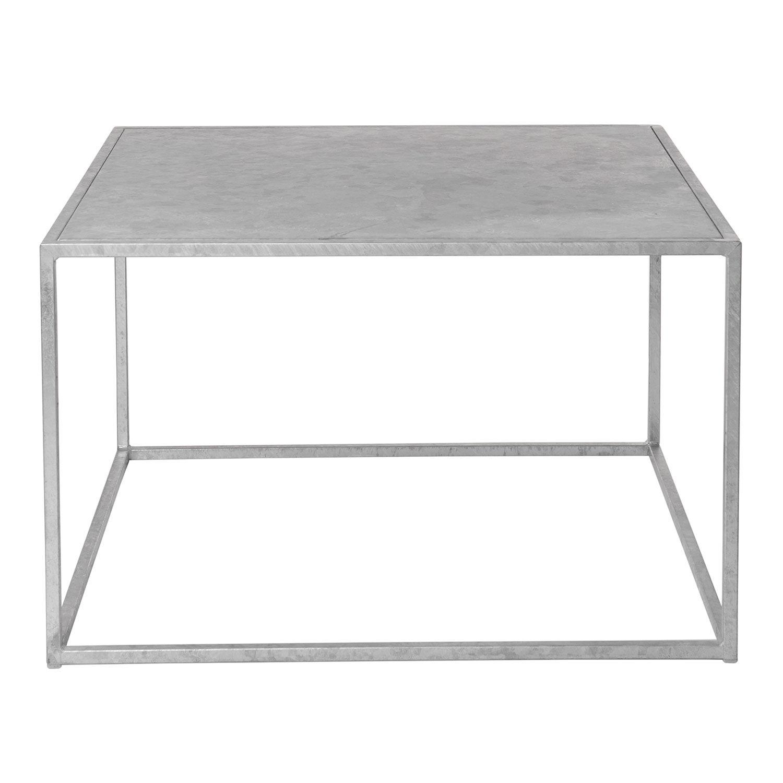 Domo Design Domo Square Table M Outdoor, Galvanized