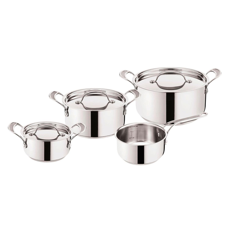 Tefal Jamie Oliver Premium Pot Set, 4 Pieces