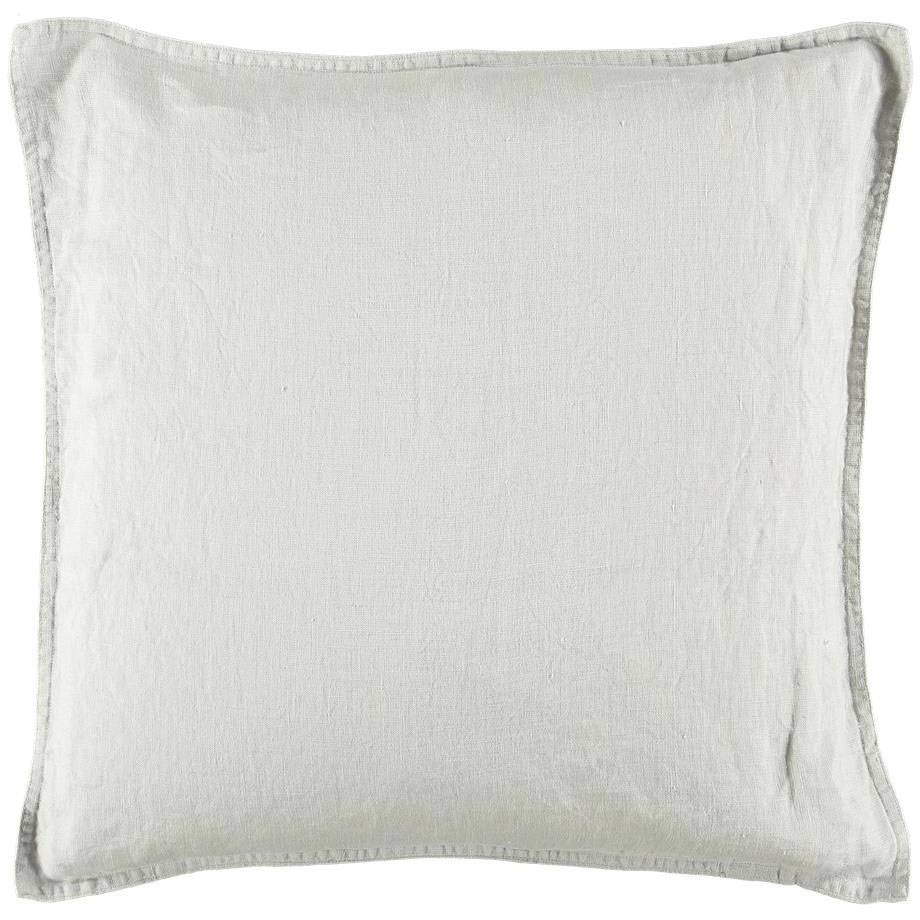 Gripsholm Washed Linen Cushion Cover 50x50 cm, Nature