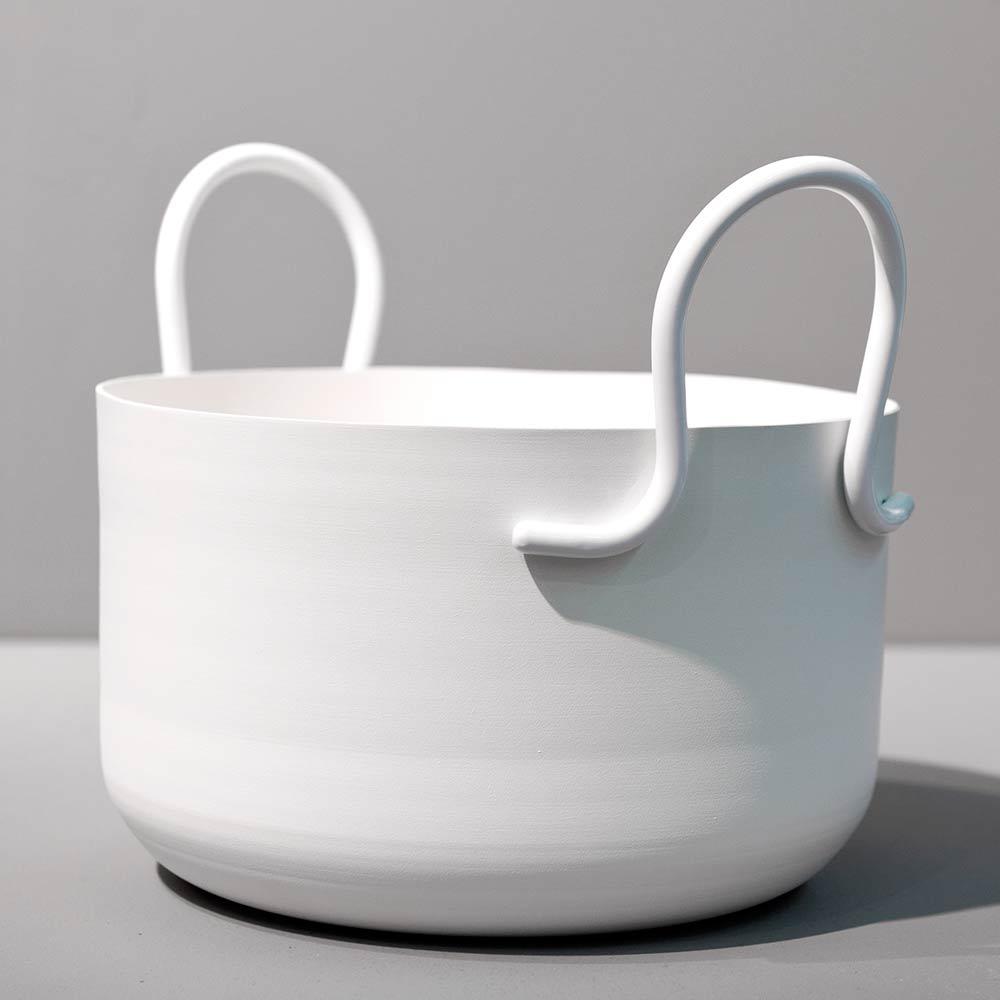 SMD Design Tivoli Ruukku H17cm Ø27cm, Valkoinen