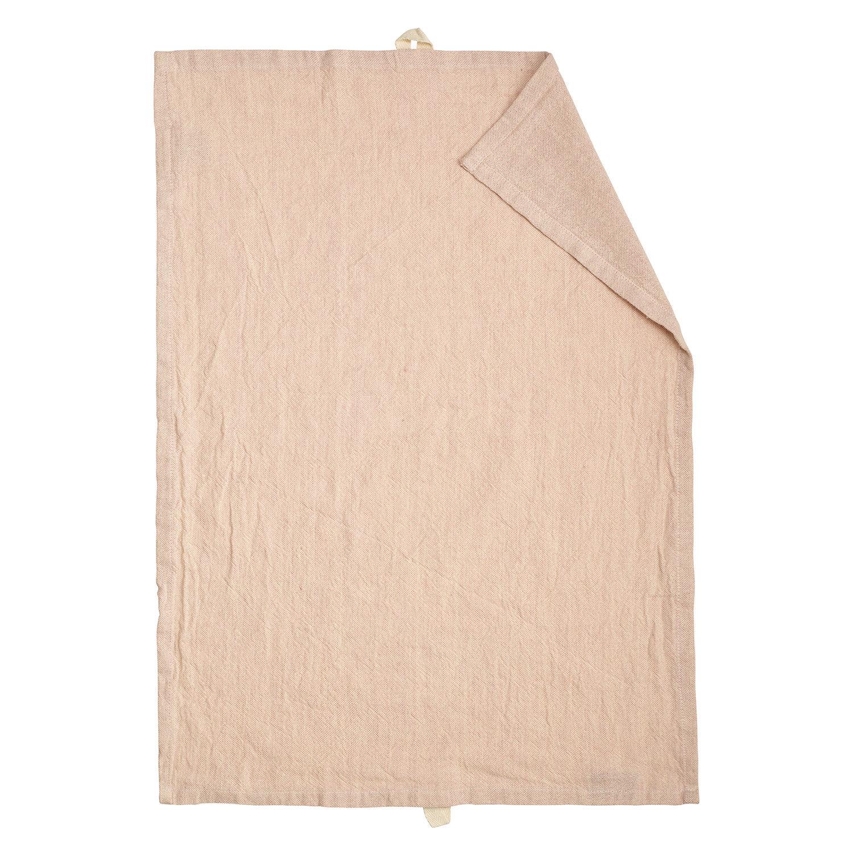 Linum Hedvig Keittiöpyyhe 50x70cm, Dusty Pink