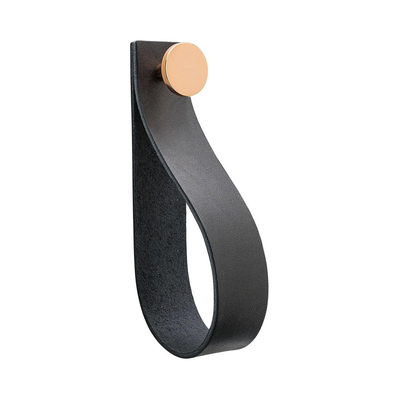 Beslag Design Loop Strap Koukku, Musta/Kupari