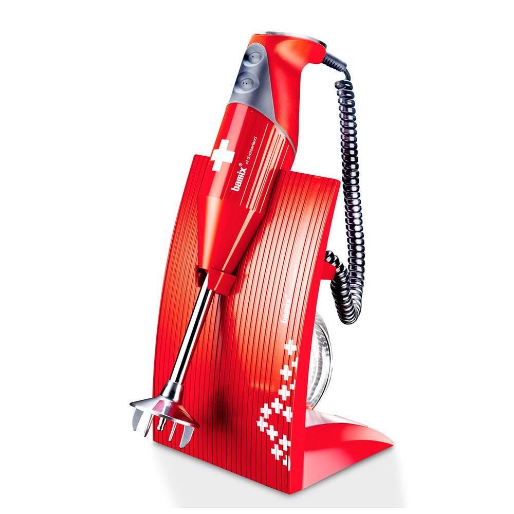 Bamix Bamix Swissline 200W Sauvasekoitin, Punainen