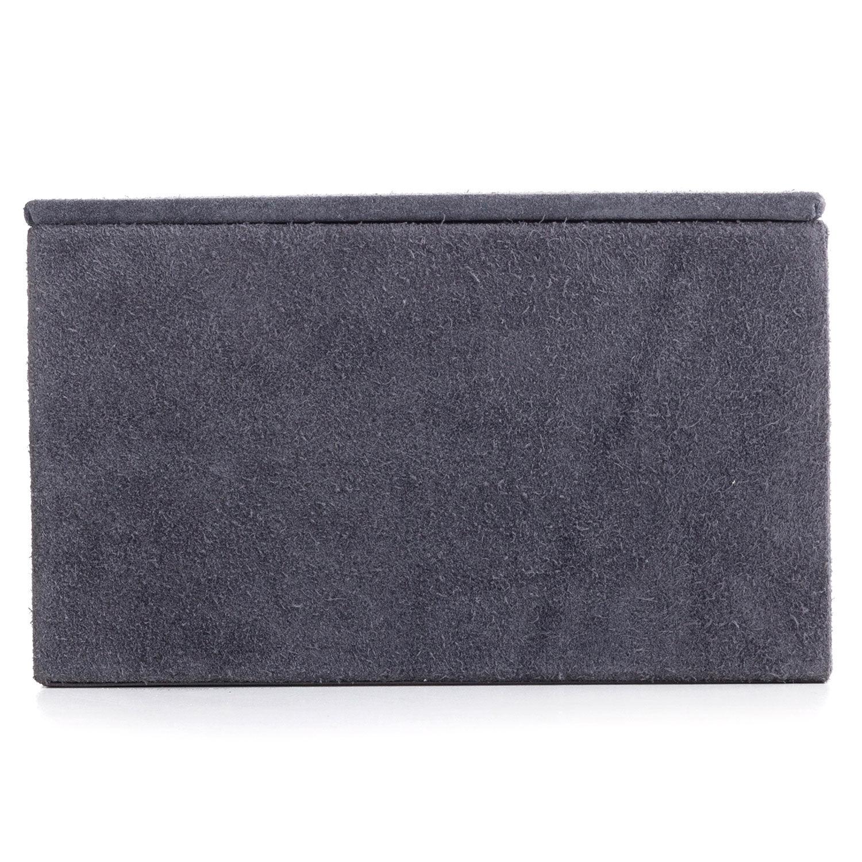 Nordstjerne Suede Box Large, Stone Grey