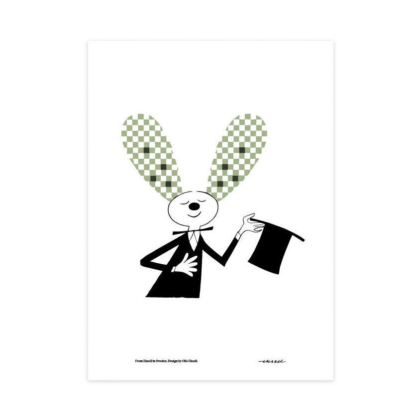Olle Eksell Rabbit Juliste 50x70cm