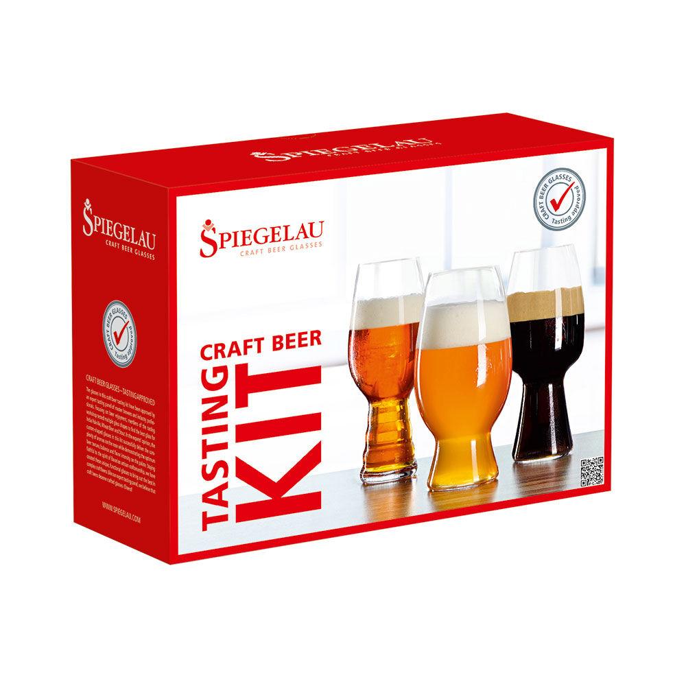 Spiegelau Beer Classic Craft Kit, 3-pakkaus
