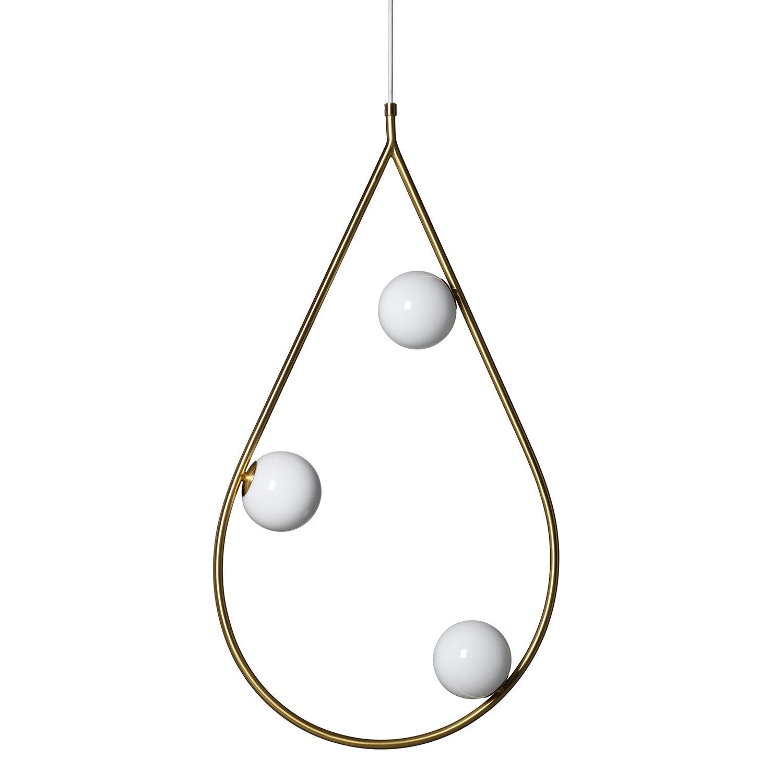 Pholc Pearls Riippuvalaisin 80cm, Messinki