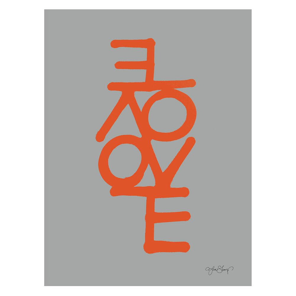 Ylva Skarp Love Juliste 30x40 cm, Harmaa