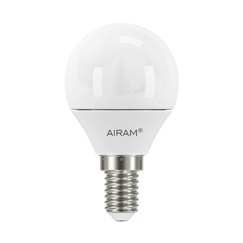 Airam LED-pallolamppu P45 E14 3,5 W, 2-pack