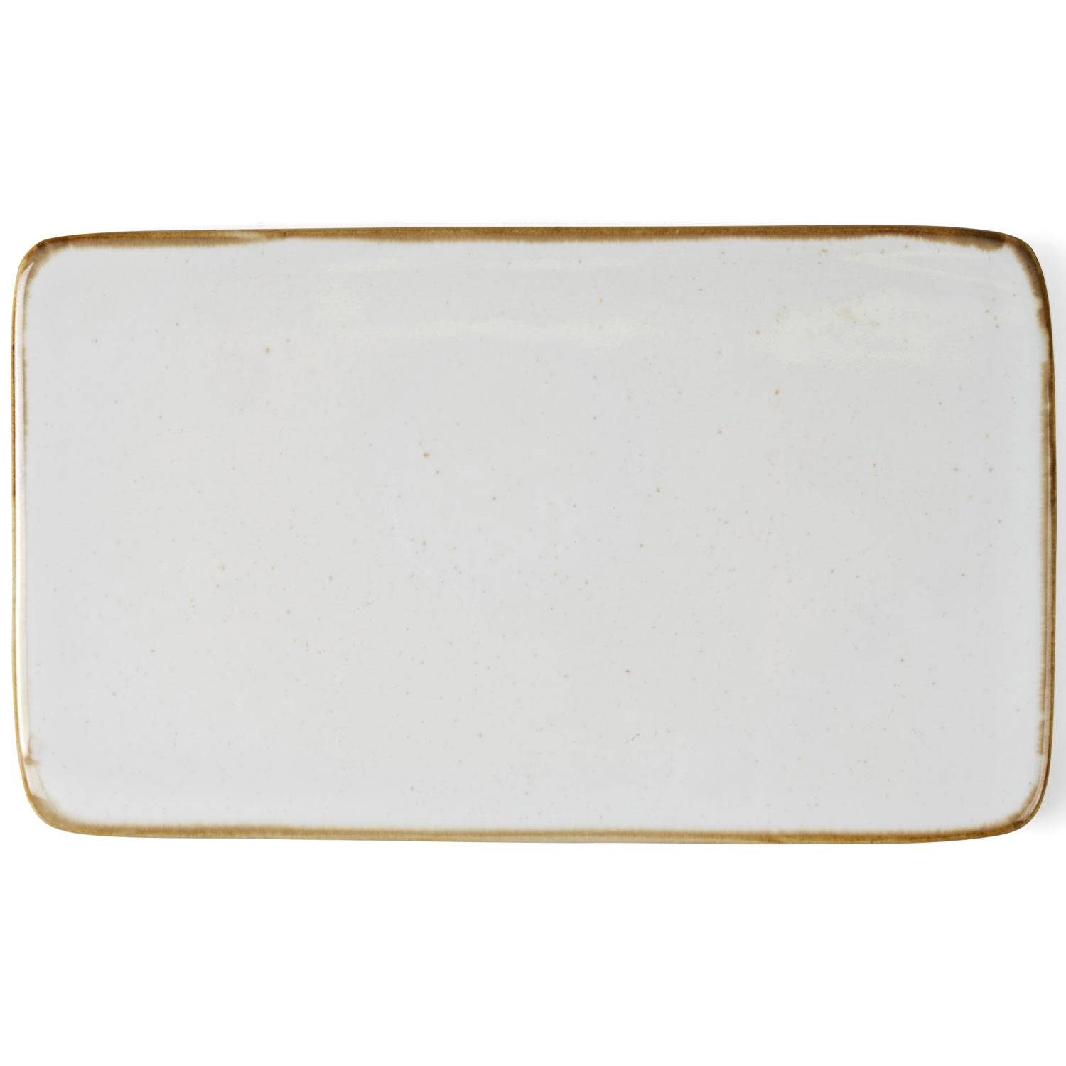 Bitz Bitz Serving Plate 22x12 cm, Off-White