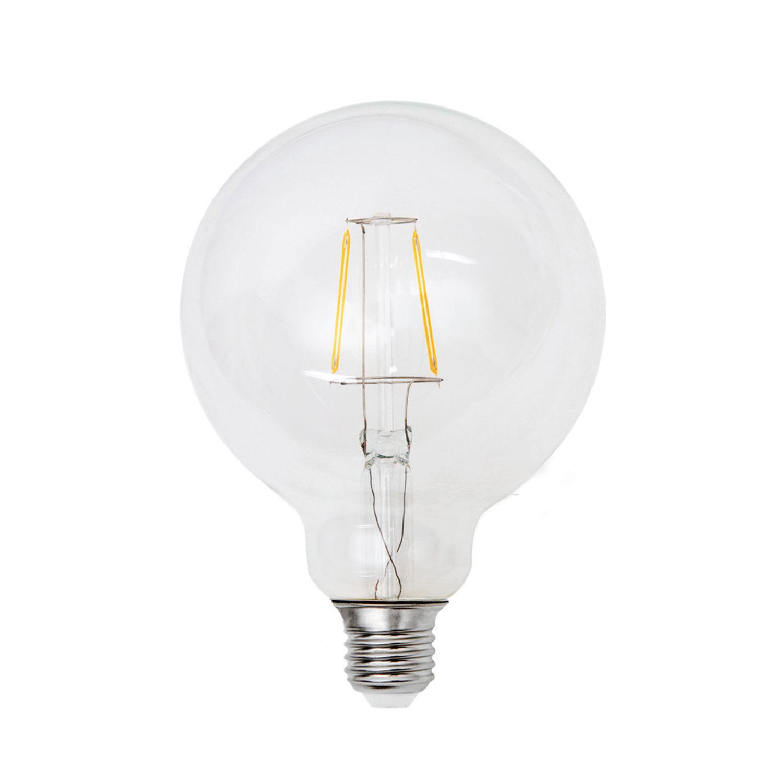 Airam LED pallo filamentti 125 mm himmennettävä E27 4 W