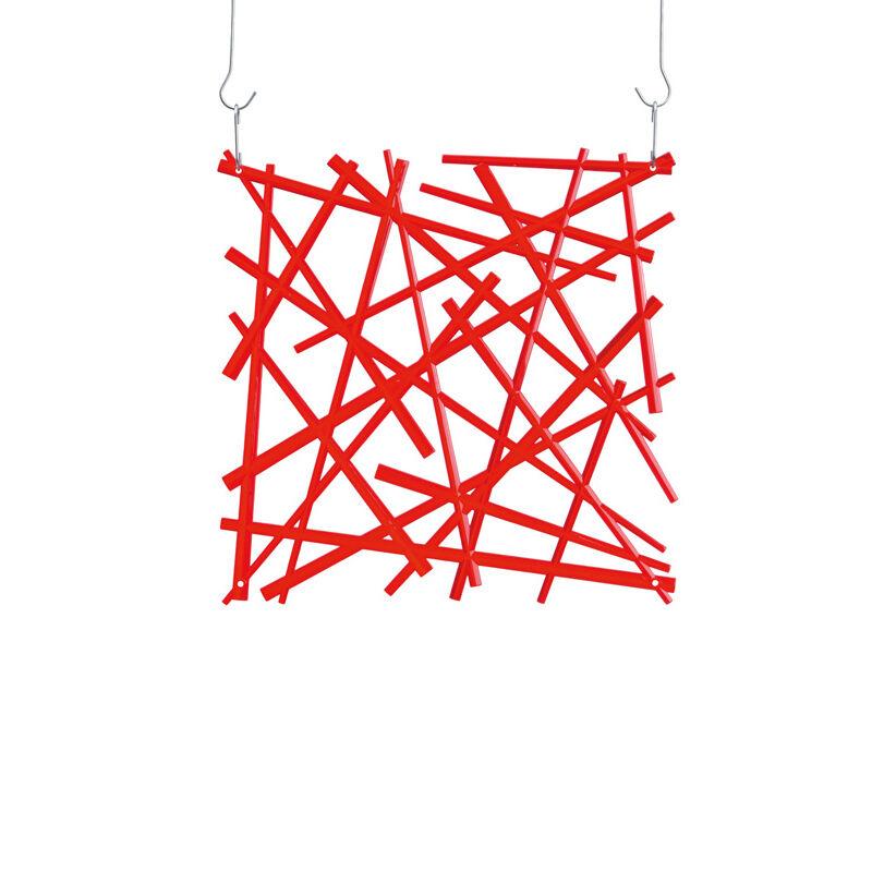 Koziol Stixx B1 Seinäkoriste, Punainen
