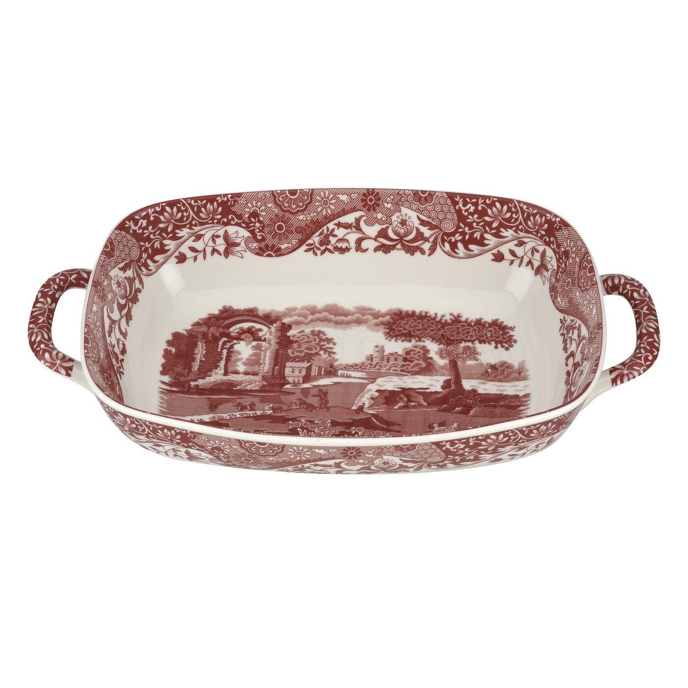 Spode Cranberry Italian Serving Dish, 29x20 cm