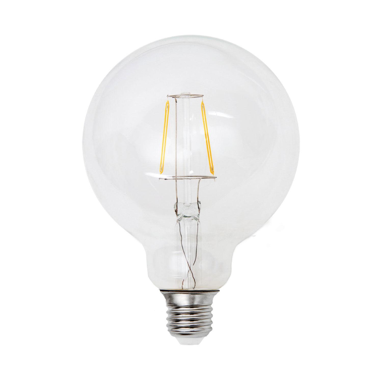 Airam LED-pallolamppu filamentti 125 mm E27 2 W