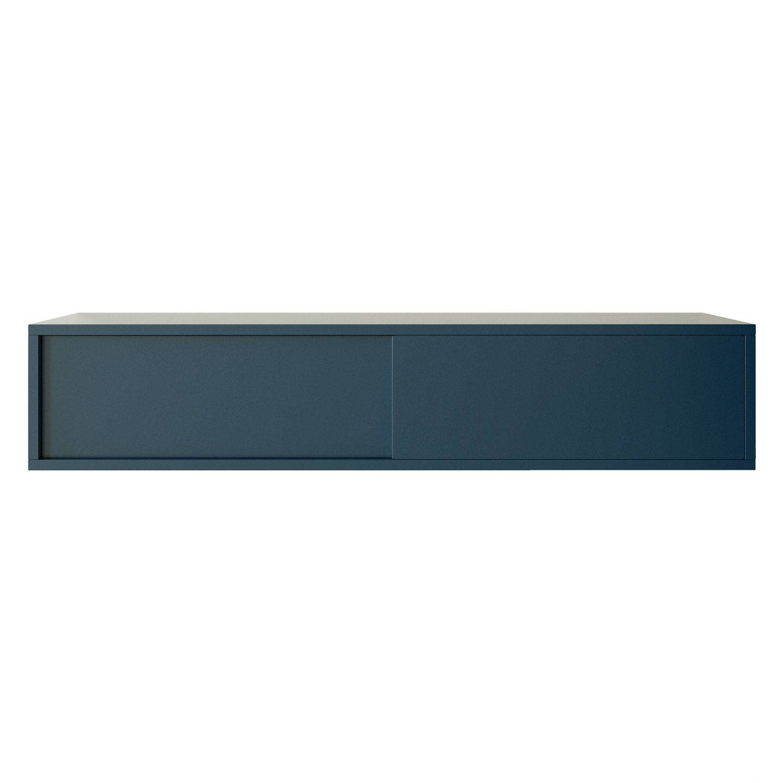 Decotique Vogue Seinäkaappi 120cm, Tummansininen