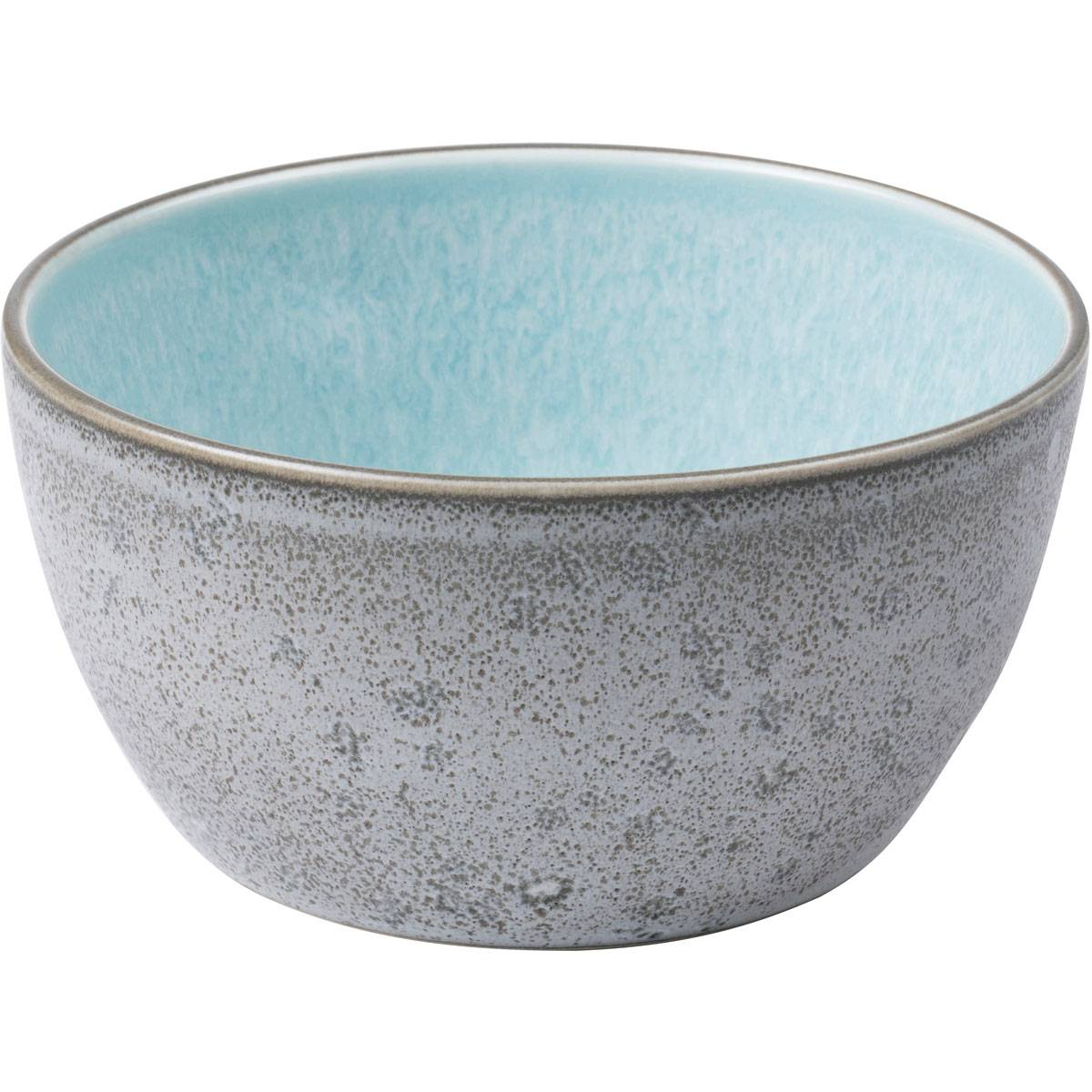 Bitz Bitz Bowl 14 cm, Grey/Light Blue