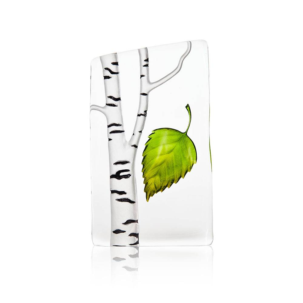 Målerås Glasbruk Global Icons Koivu Pieni, Vihreä