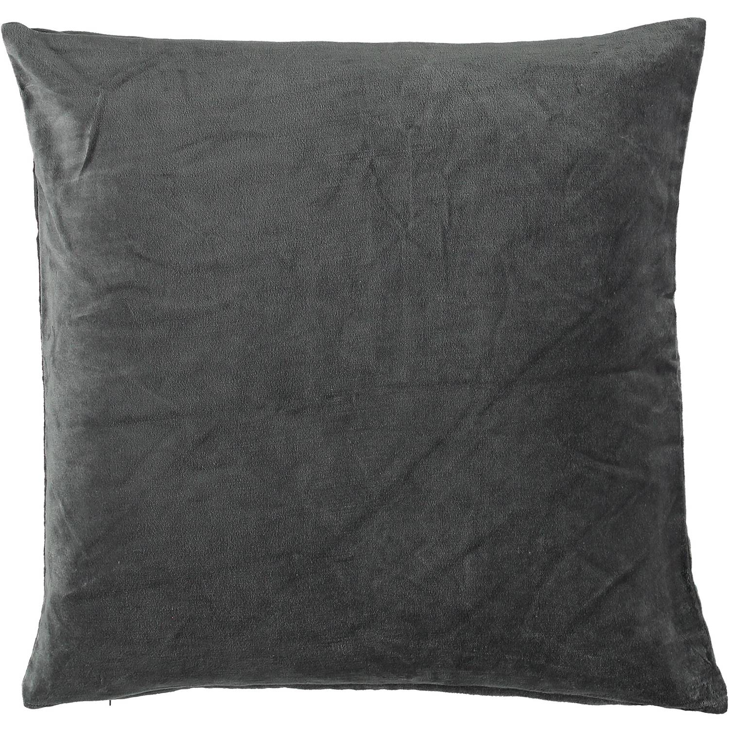 Gripsholm Ava Cushion Cover 50x50 cm, Anthracite