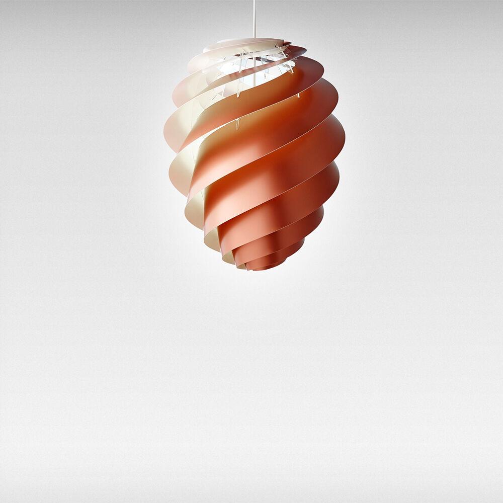 Le Klint Swirl 2 Kattovalaisin Medium, Kupari