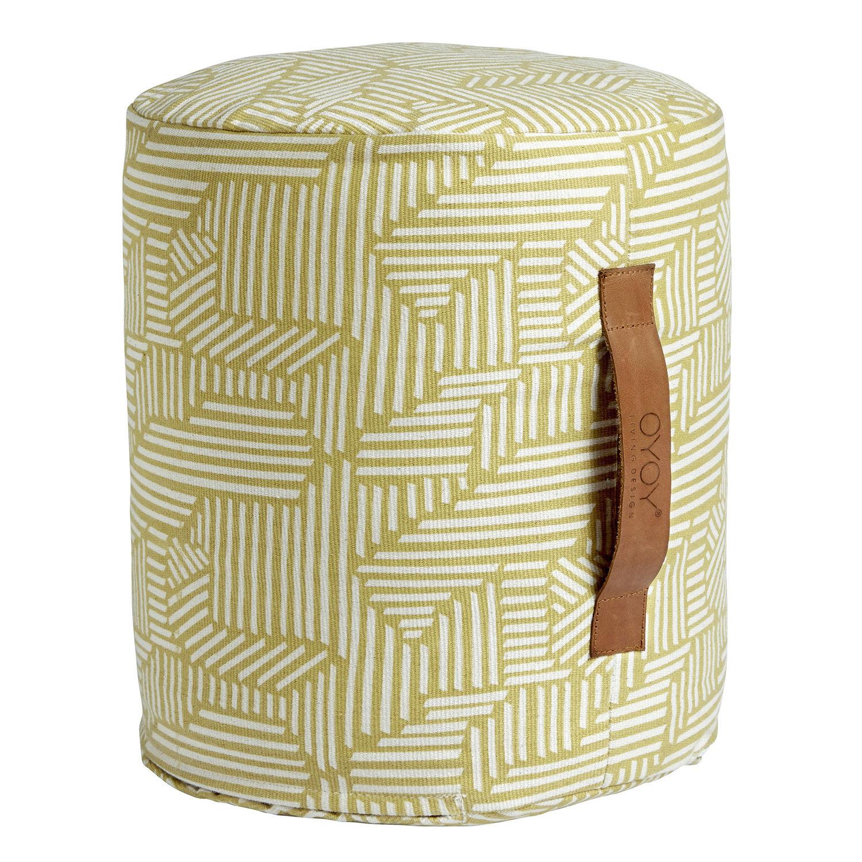 OYOY Mini Paddy Istuintyyny Ø30x35cm, Bamboo