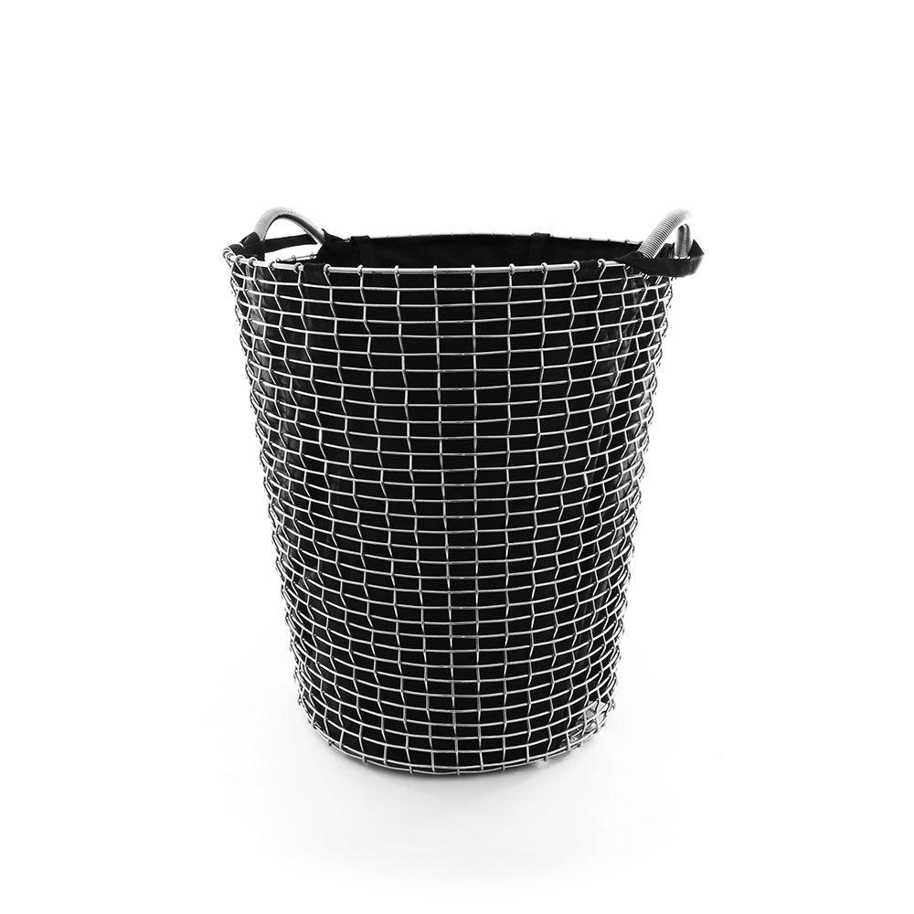 Korbo Pyykkipussi 80L, Musta