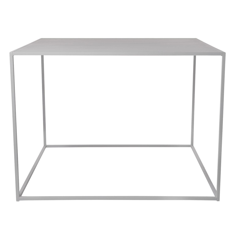 Domo Design Domo High Square Ruokapöytä 100x100x73cm, Harmaa