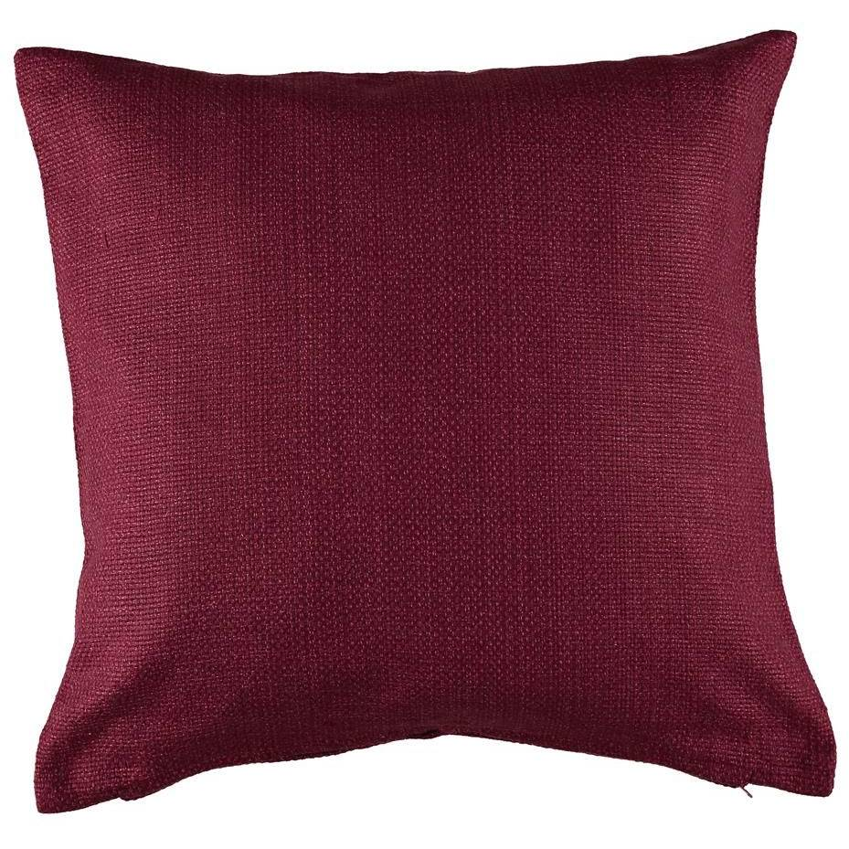 Gripsholm Dalia Cushion Cover 50x50 cm, Burgundy