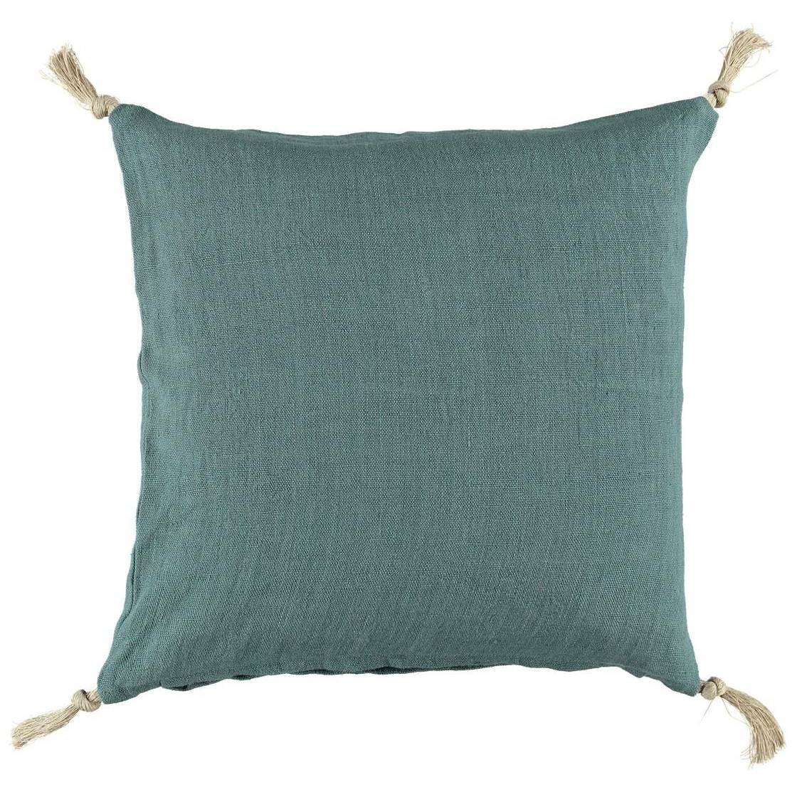 Gripsholm Linen Cushion Cover 50x50 cm, Misty Grey