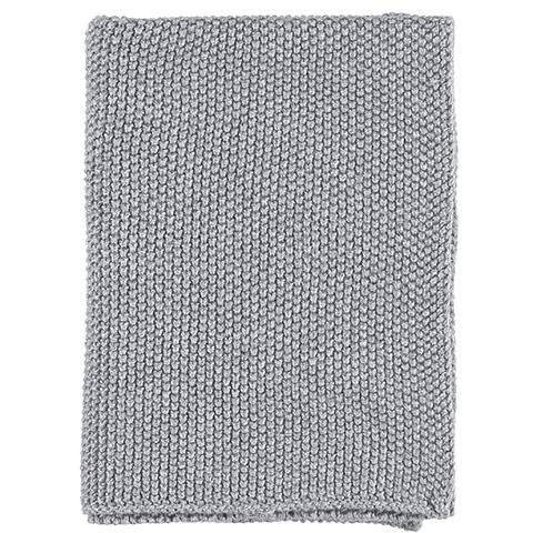 Gripsholm Knitted Dishcloth, Mellangrå