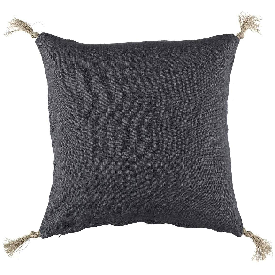 Gripsholm Linen Cushion Cover 50x50 cm, Ombre Blue