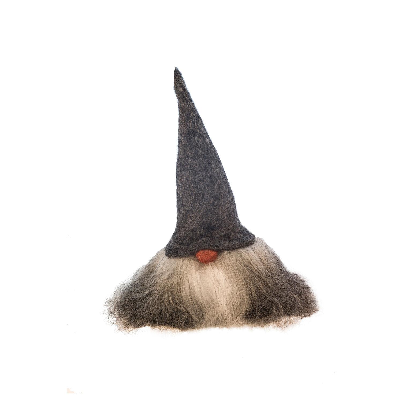 Åsas Tomtebod Valter Gnome 35 cm, Grey