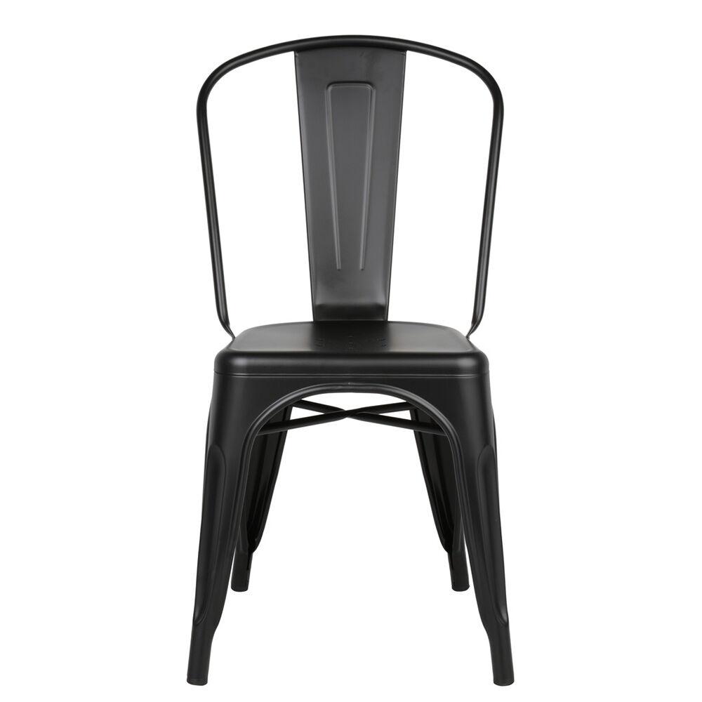 Tolix Tuoli A Musta/Matta