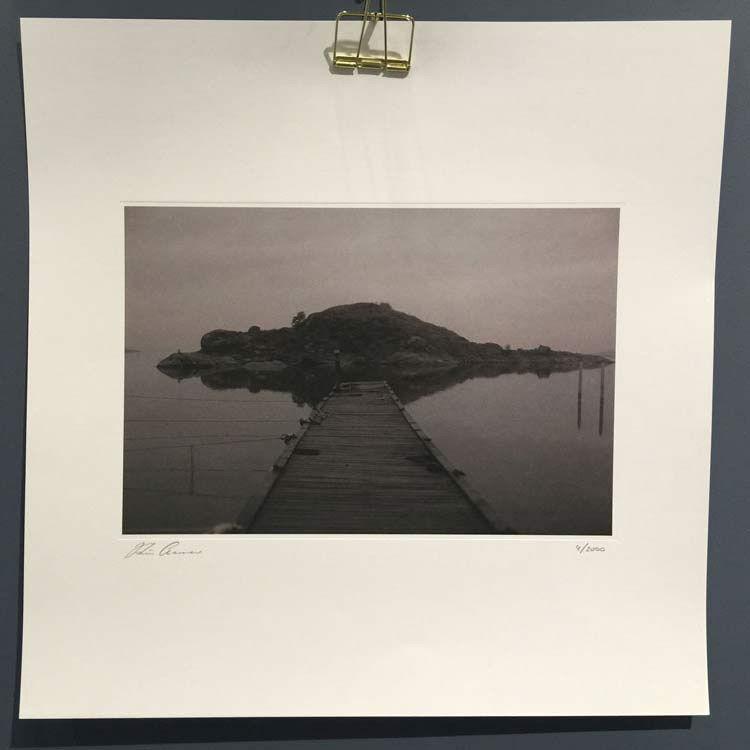 Kajsa Cramer The Island Juliste, 45x45cm