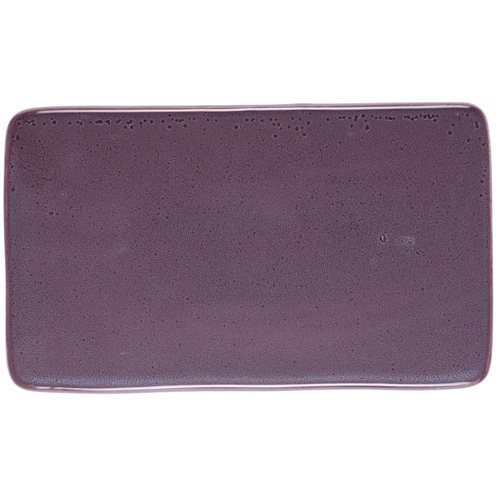 Bitz Bitz Serving Plate 22x12 cm, Purple