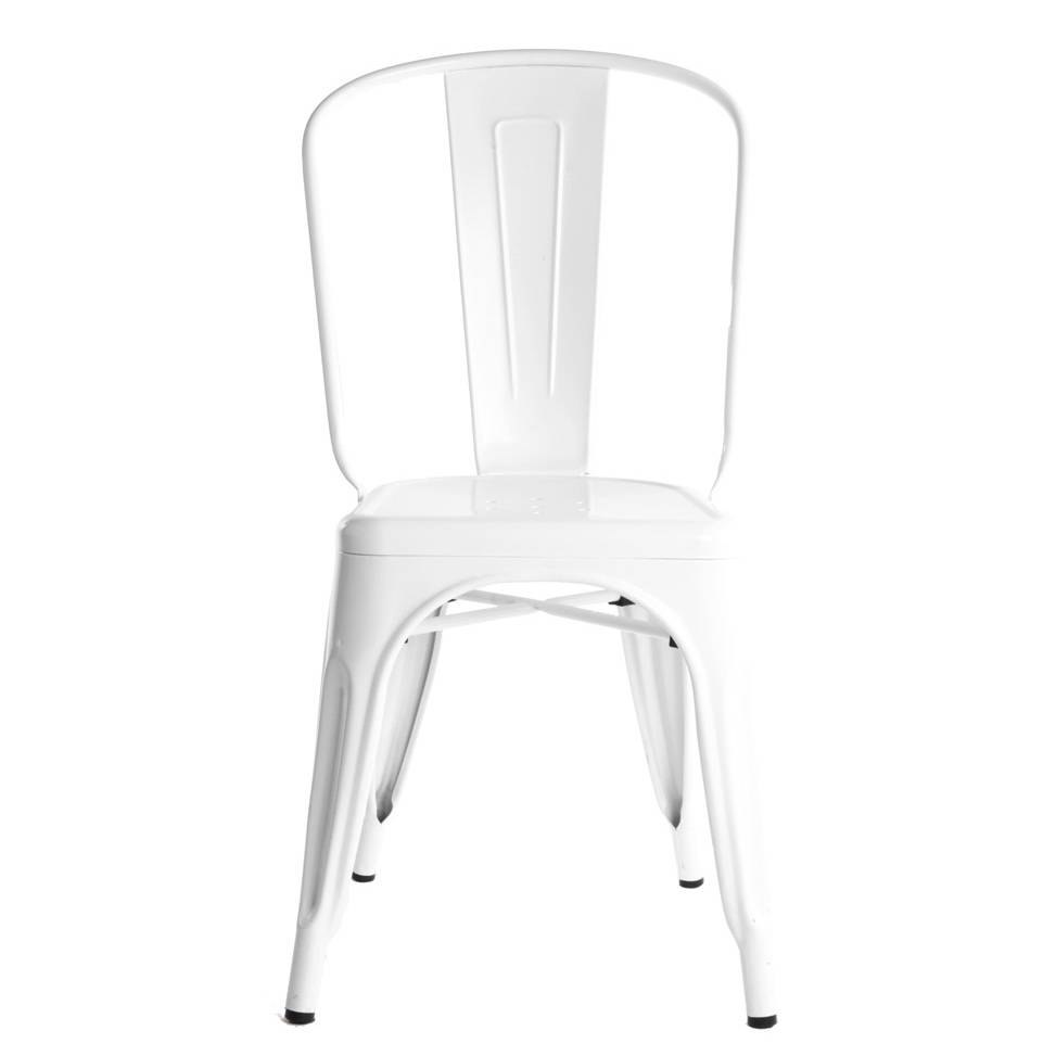 Tolix Tuoli A Valkoinen/Kiiltävä