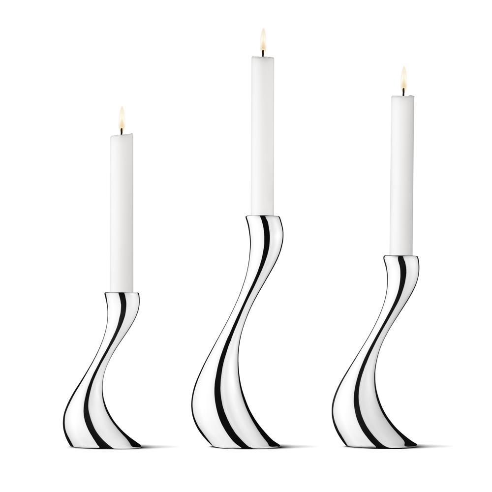 Jensen Georg Jensen Cobra kynttilänjalat setti 3kpl